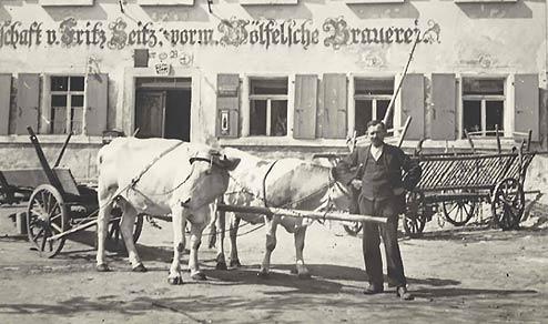 Der traditionsreiche Gasthof Seitz